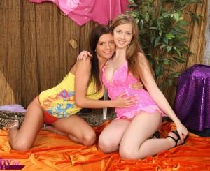 lesbische meiden